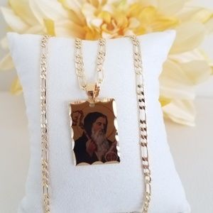 St. Benedict Picture Necklace
